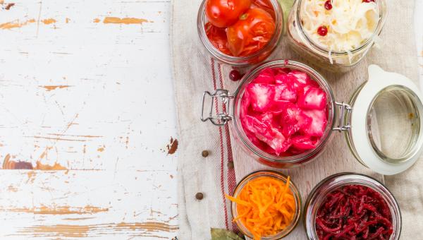 Fermented food jars